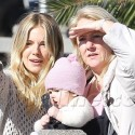 Sienna Miller And Her Mom Take Out Baby Marlowe