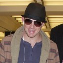 Channing Tatum Touches Down In N.Y.C.