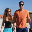Sofia Vergara Hits The Beach With Fiance Nick Loeb