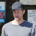 Alexander Skarsgard Goes Out With His Friend