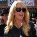 Dina Lohan Hits The Grove In Los Angeles