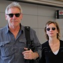 Harrison Ford And His Family Take A Trip