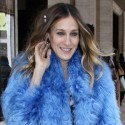 Sarah Jessica Parker Attends Fashion Week In NYC