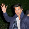 Taylor Lautner and Patrick Schwarzenegger Hit Up The WME Party