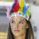 Alessandra Ambrosio And Daughter Anja Show Off Their Brazilian Spirit