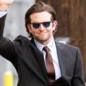 Bradley Cooper Waves Hello At <em>Jimmy Kimmel Live</em>