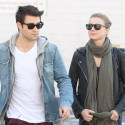Emily VanCamp And Josh Bowman Go Shopping On Melrose