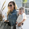 Hilary Duff Steps Out With Son Luca