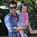 Johnny Knoxville And His Family Spend The Day At The Farmers Market