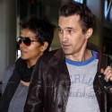 Halle Berry And Olivier Martinez Hold Hands At The Airport
