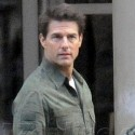 Emily Blunt And Tom Cruise On The Set Of <em>All You Need Is Kill</em>