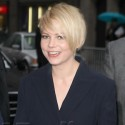 Michelle Williams Strikes A Pose Outside Of Letterman