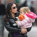Bethenny Frankel And Her Daughter Shop In NYC