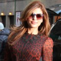 EvaMendes Visits The Late Show with David Letterman