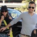 Giuliana And Bill Rancic Arrive At LAX