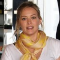 Hilary Duff Goes Shopping In Beverly Hills