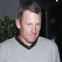 Lance Armstrong Goes To Dinner With Friends