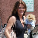 Lisa Vanderpump And Other Celebs Head To DWTS Rehearal