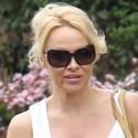 Pamela Anderson Goes Shopping In Malibu