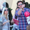Tori Spelling And Husband Dean Bring The Kids To A Charity Event
