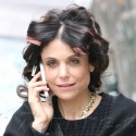 Bethenny Frankel Steps Out With Rollers In Her Hair