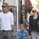 Gwen Stefani And Her Family Go To The Grove