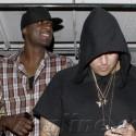 Rob Kardashian And Lamar Odom Party At Emerson Nightclub