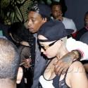 Amber Rose And Wiz Khalifa Party At Hyde