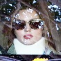 Miranda Kerr Wears A Neck Brace After Getting Into A Car Accident