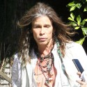 Steven Tyler Makes An Appearance At A Charity Event