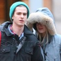 Emma Stone And Andrew Garfield Grab Some Grub In NYC