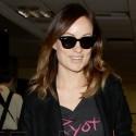 Olivia Wilde At LAX