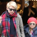 Michelle Williams Takes Matilda To CrewCuts In N.Y.C.