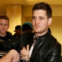 Michael Buble Arrives At LAX