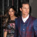 Matthew McConaughey And Wife Camila Attend Movie Event In NYC