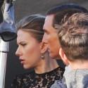 Matthew McConaughey And Scarlett Johannson Do A Photo Shoot By The Beach