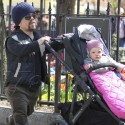 Peter Dinklage Steps Out With Daughter Zelig