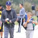 Ryan Phillippe And His Mini-Me Son Deacon
