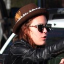 Tallulah Willis Does Some Funny Business In Venice