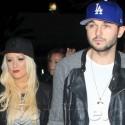 Christina Aguilera And Matt Rutler Attend The Rihanna Concert