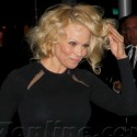 Pamela Anderson Attends Vanity Fair Event At Mr. Chows