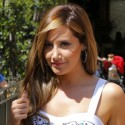 Ashley Tisdale Stops By The Grove