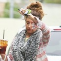 Ashley Tisdale Shows Off Her Tight Tummy