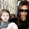 Victoria Beckham And Her Kids At LAX