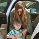 Miranda Kerr And Son Flynn Hold Hands