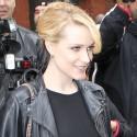 Pregnant Evan Rachel Wood Smiles In N.Y.C.