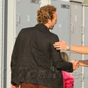 Chris Martin Takes Apple And Moses To Gwyneth's Book Signing
