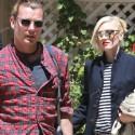 Gwen Stefani And Gavin Rossdale Leave A Friend's House