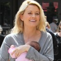 Holly Madison Carries Baby Rainbow Around Los Angeles