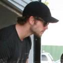 Liam Hemsworth Leaves The Gym